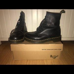 Black Dr. Marten boots - size 8